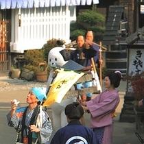 ニャンまげ(日光江戸村)