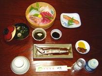 夕食・海鮮会席・梅プラン・通年