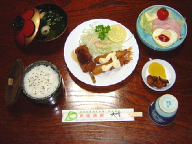 夕食・フライ定食プラン・通年