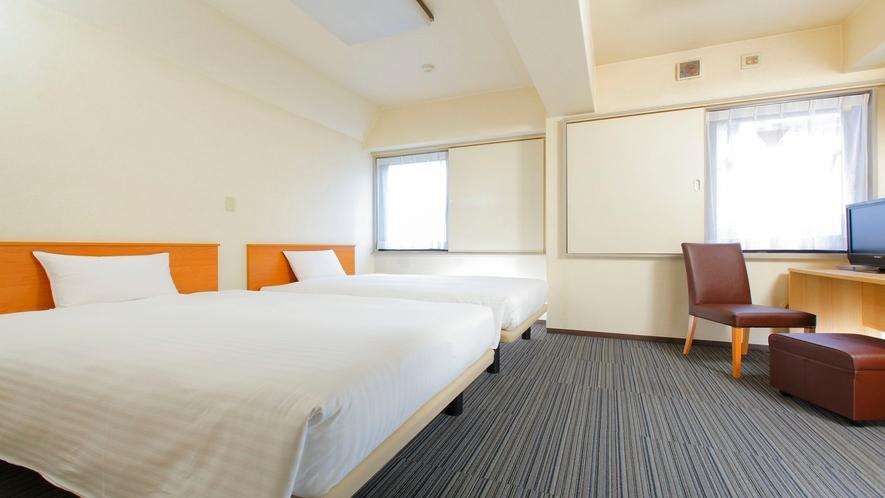 【スタンダードツイン】20㎡/ベッド幅120cm2台