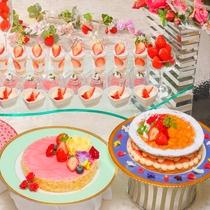 【4月5日~7月21日】春の料理フェア『苺のデザート』※イメージ