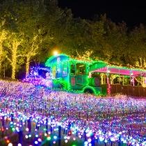 光の列車「キンダーガーデン-レイルロード」