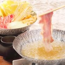 【4月5日~7月21日】春の料理フェア『オリーブ豚のしゃぶしゃぶ』※イメージ
