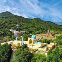 アジア遺跡を忠実に再現したエリア「オリエンタルトリップ」