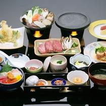 *青森まるかじり膳/青森県産のブランド牛や海鮮丼、青森食材にこだわりボリュームもたっぷり!