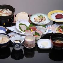 *八戸せんべい汁殿様御膳/八戸に来たら食べたい郷土料理をぎゅっと詰め込みました♪