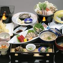 *アワビ尽くし膳/メインの調理法は選べて嬉しい♪活きの良い三陸産アワビを堪能!