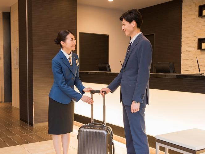 ◆お荷物のお預けはお気軽にどうぞ◆