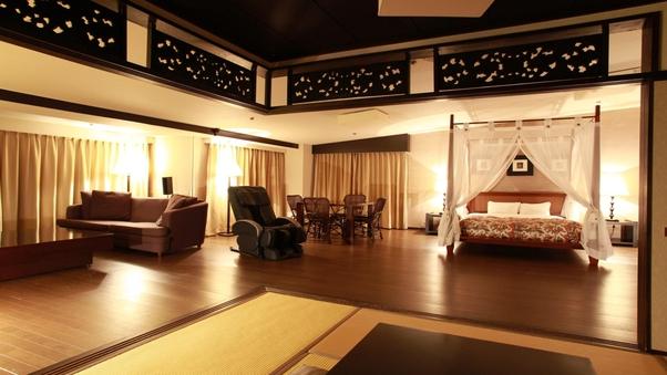 【禁煙】最上階バリ風客室◆アジアンビッグスイート/120平米