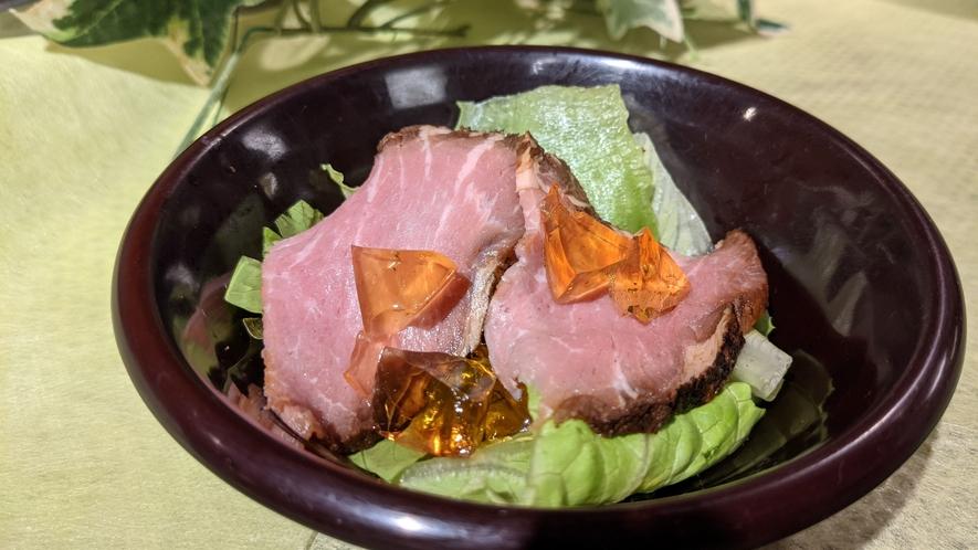 【夕食】ローストポークサラダ★