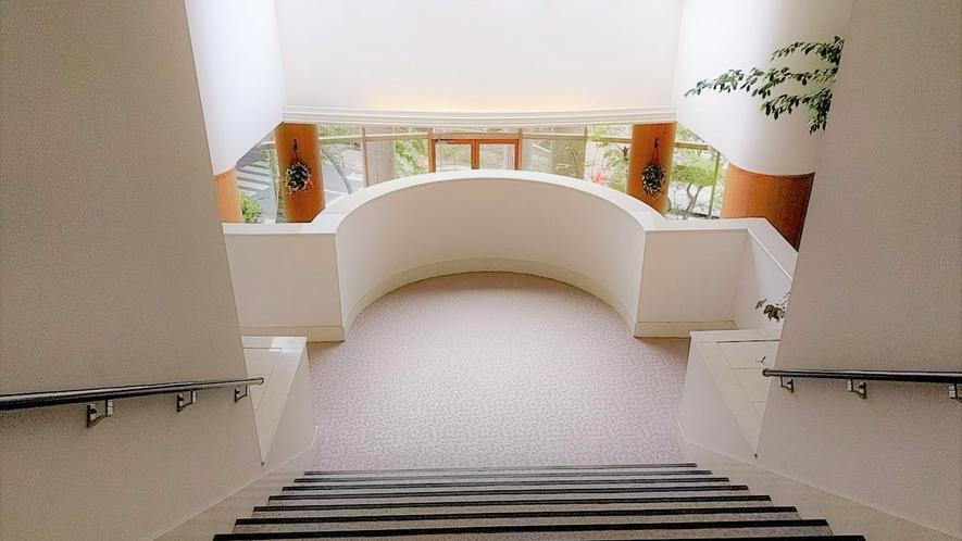 ウェルネス棟階段★
