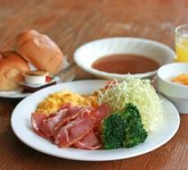 朝食 洋食セットメニュー