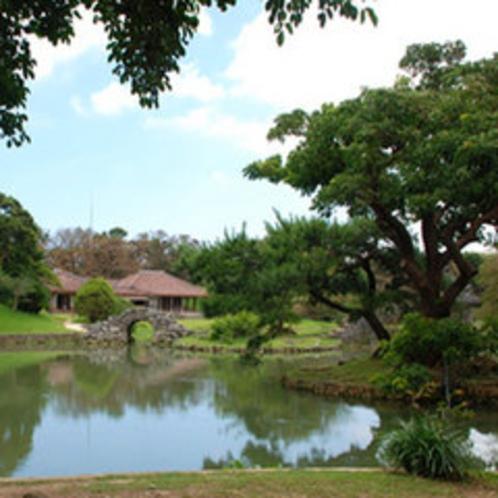 【識名園】1799年に琉球王家の別荘としてつくられ、保養や中国からの使者を迎えるのに利用されていた美