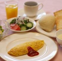 朝食:洋食*