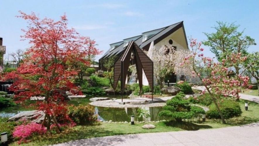 中庭:日本庭園