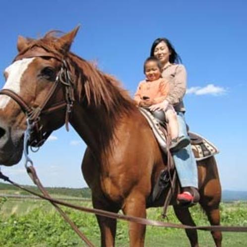 乗馬体験親子