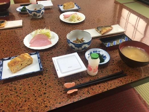 【朝食付】源泉掛け流し天然温泉と家庭的な朝食を堪能.