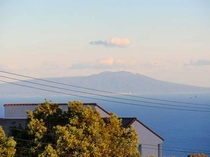 伊豆大島が見える部屋