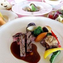 *お夕食例「琉球プチフレンチディナー」