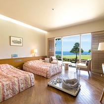 ガーデンツイン【1室限定】には<ペットとご宿泊OK>のお部屋がございます