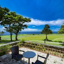ガーデンツイン<ペットと同宿可>お庭付き、一緒に沖縄の開放感を味わえます