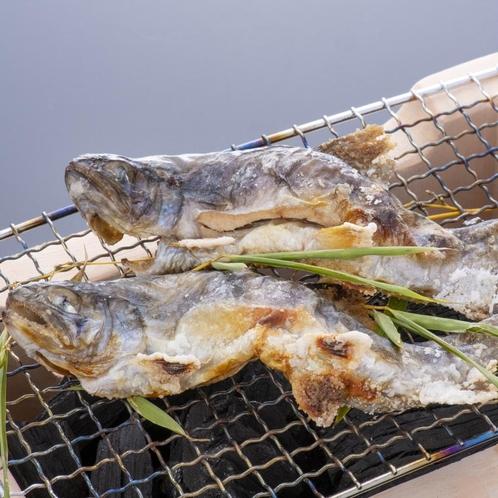 ~別注料理 岩魚の塩焼き~
