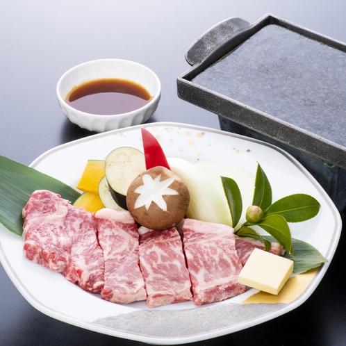 ~別注料理 上州牛ステーキ(石焼き)~
