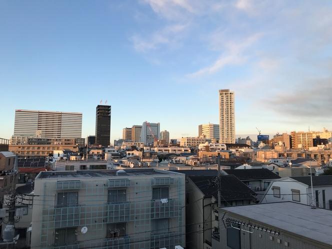 中野駅方面の展望