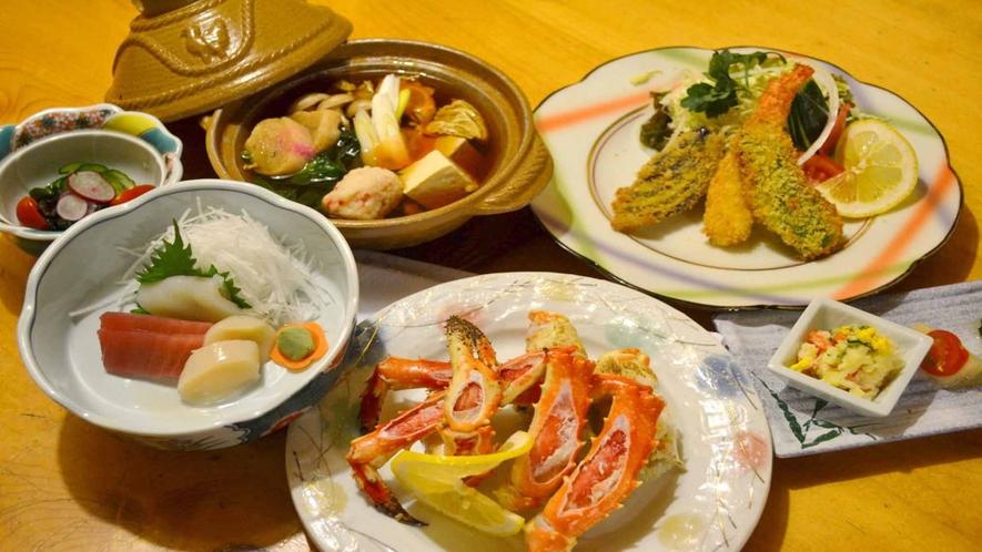 *タラバ又はアブラがにの足/旨みたっぷりの蟹を召し上がれ♪