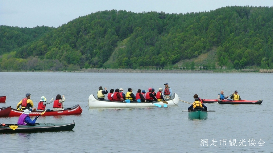*[カヌー体験]呼人半島上陸、野鳥観察もできます