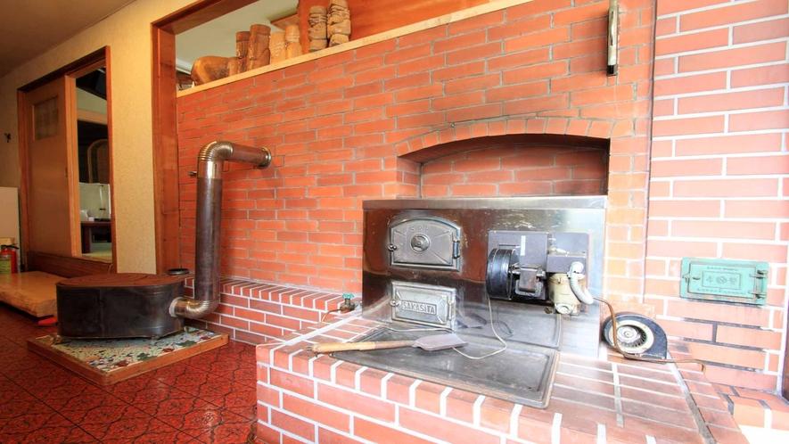 *なかなかお目にかかれないペチカ。ロシア式暖炉