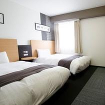 ◆ツインエコノミー◆広さ19平米◆ベッド幅123センチ◆