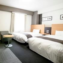 ◆ツインスタンダード◆広さ23平米◆ベッド幅123センチ◆