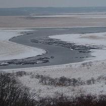 冬の霧多布湿原(ガイドツアーで道東周辺を通年でご案内)
