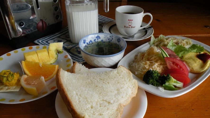 B&Bプラン1泊朝食付きプラン(一例)