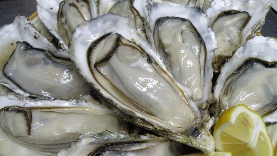 追加メニューの焼き牡蠣