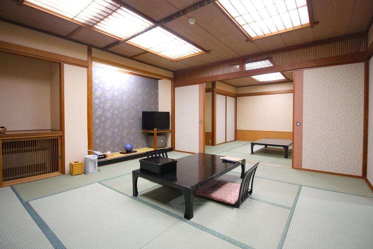 32畳の広いお部屋でみんな一緒に泊まれる♪コンフォートルーム