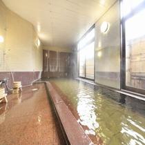 ■大浴場「河じかの湯」(女性)/豊富なお湯にゆっくりつかってください。