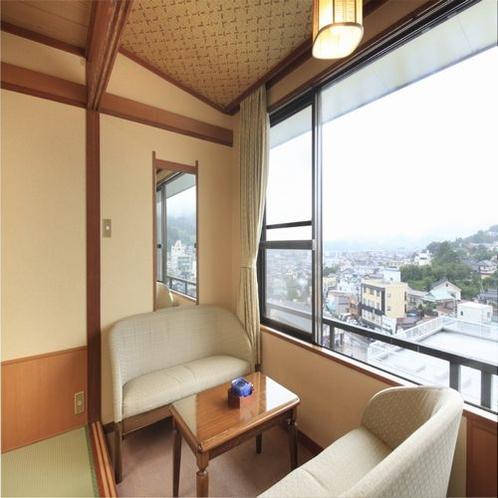 ■客室一例/客室からの見晴らしもいいですよ