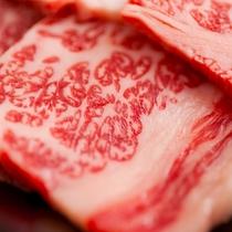 地元の代表食材で「福島牛」!