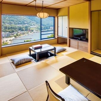 【タイプ1A】芦ノ湖一望の和室12畳(37平米)