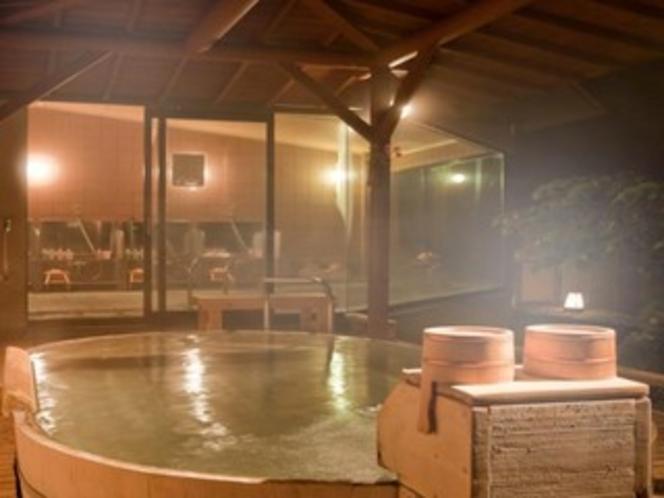 檜風呂(夜)