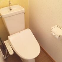 【別館*独立ウォッシュレット付(温水洗浄)トイレ】快適な設備~♪