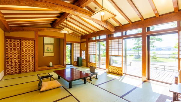 【岩露天風呂付】宍道湖ビューテラスを備えた特別室<暁富士>
