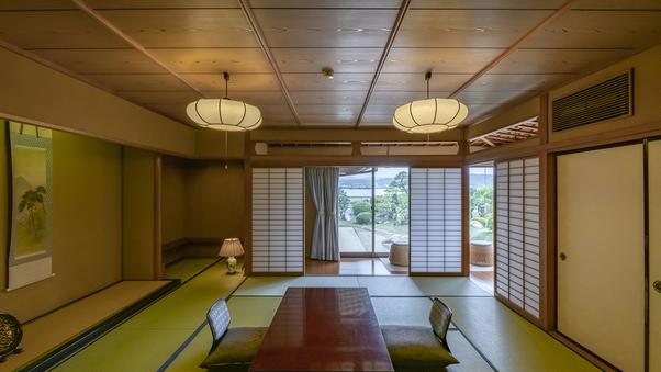 【離れ客室】宍道湖向き 数寄屋風の庭園付き離れ客室