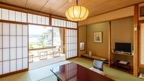 宍道湖向き客室