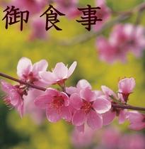 お食事は春は桜と新緑、夏の濃い緑、秋の紅葉など四季折々の自然景観に包まれた中での御食事となります