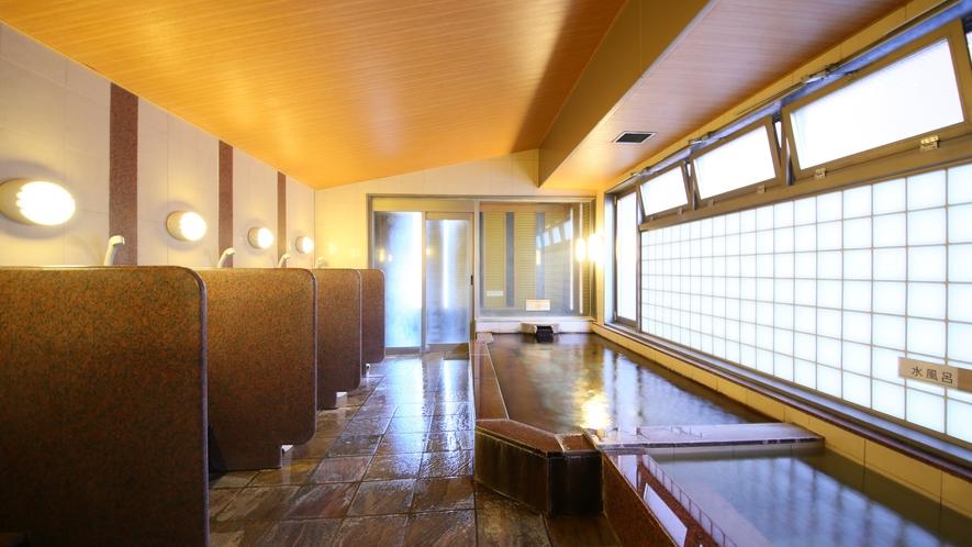 女子大浴場(洗い場)