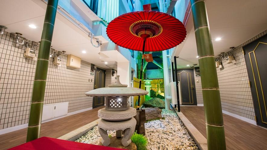 本館 セジュールフジタ 3階  中庭
