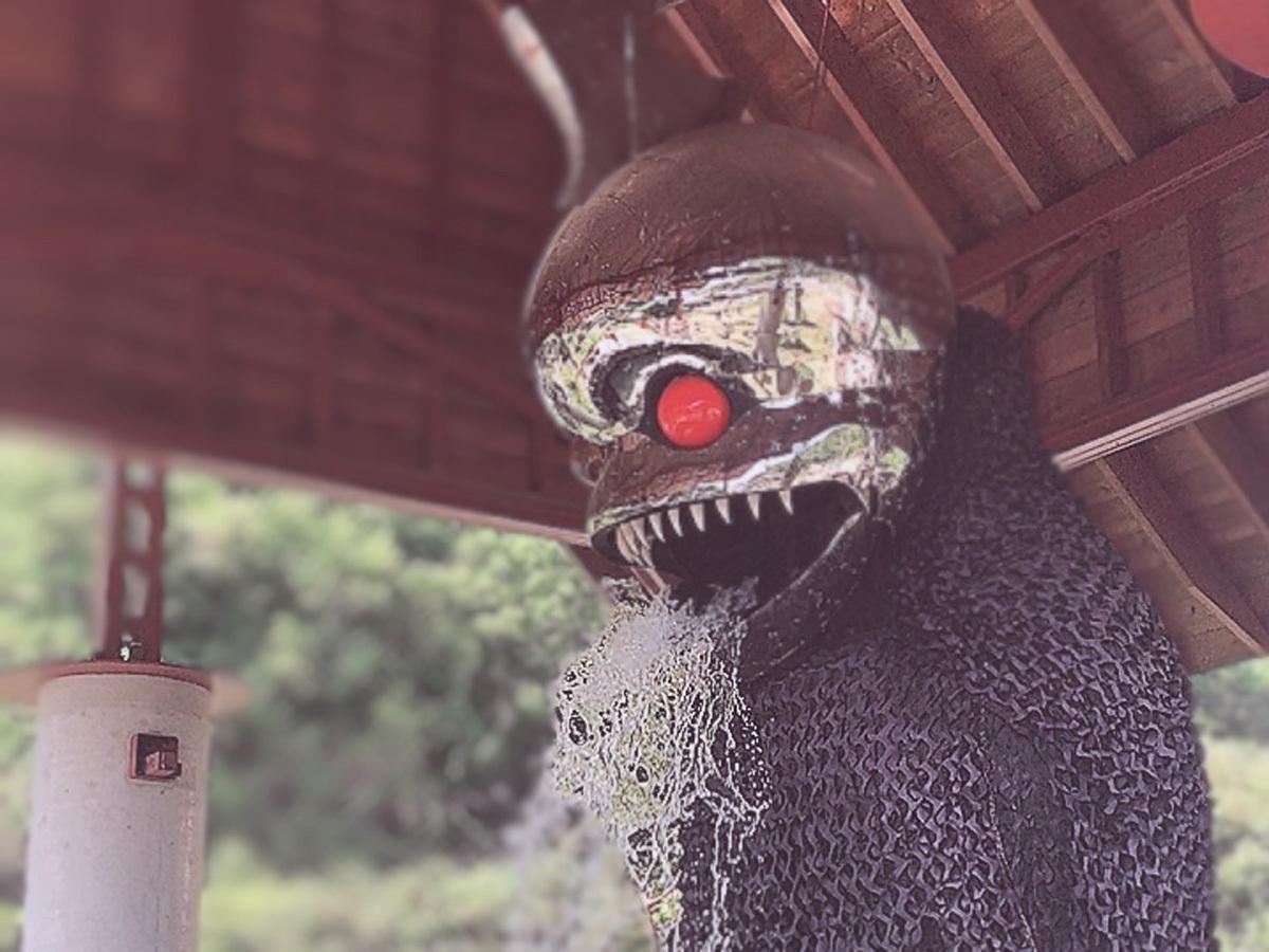 ビートたけしヤノベケンジ 『アンガー・フロム・ザ・ボトム』 ※瀬戸内国際芸術祭の会期外も観賞可能